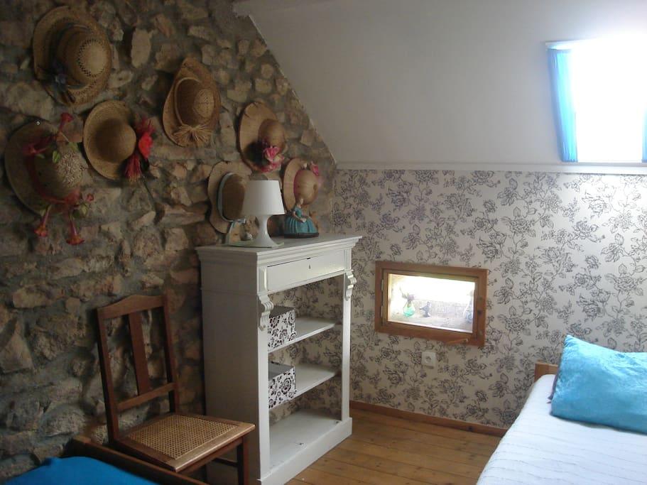 Detail Hoedjeskamer