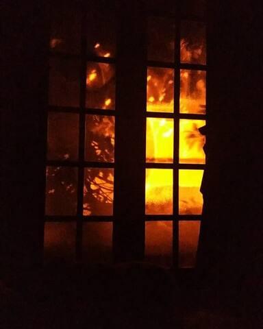 A porta balcão,essa imagem ,quando estamos com ela aberta e os vidros fechados...