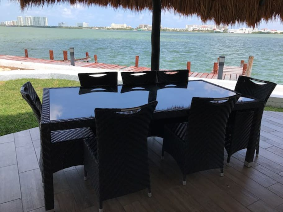 Palapa in common area perfect for gatherings