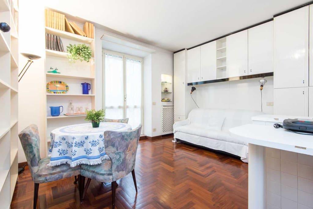 Studio apartment parioli appartamenti in affitto a roma for Affitto studio roma parioli