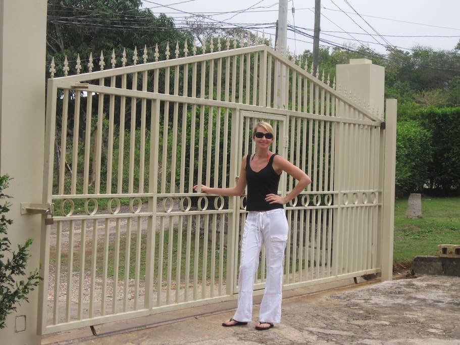 Gate at Rocky Mountain Negril