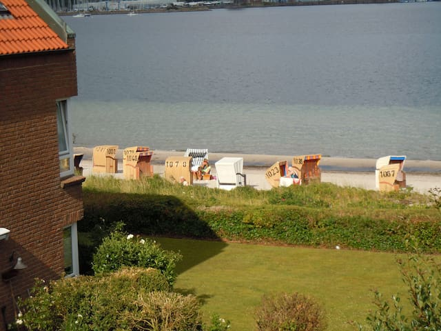 Very nice room, view on Baltic Sea - Eckernförde - Hus