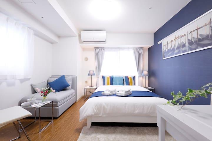 SHINJUKU/SHIBUYA EASY ACCESS 3 MINS FROM STATION - Shibuya-ku - Apartemen