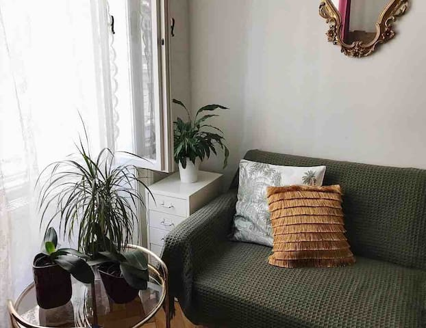 Spacious room in Vienna city apartment