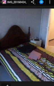 Chambre avec lit 2 places - Brignais