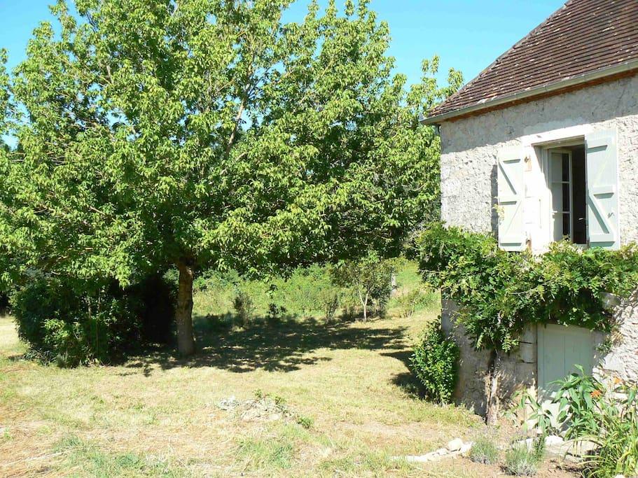 La petite maison au bord de la Dordogne