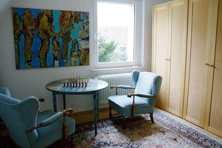 Doppelzimmer in der Wohnung im OG