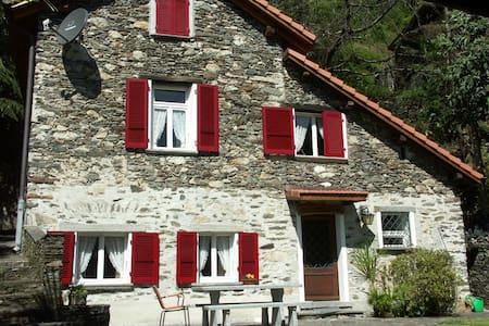 casa in vero stile ticinese - Ronco sopra Ascona