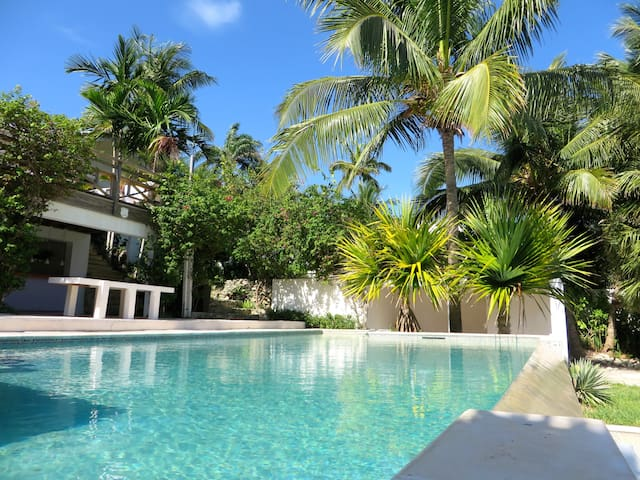 BEACH-FRONT VILLA WITH PRIVATE POOL - Nassau - Villa