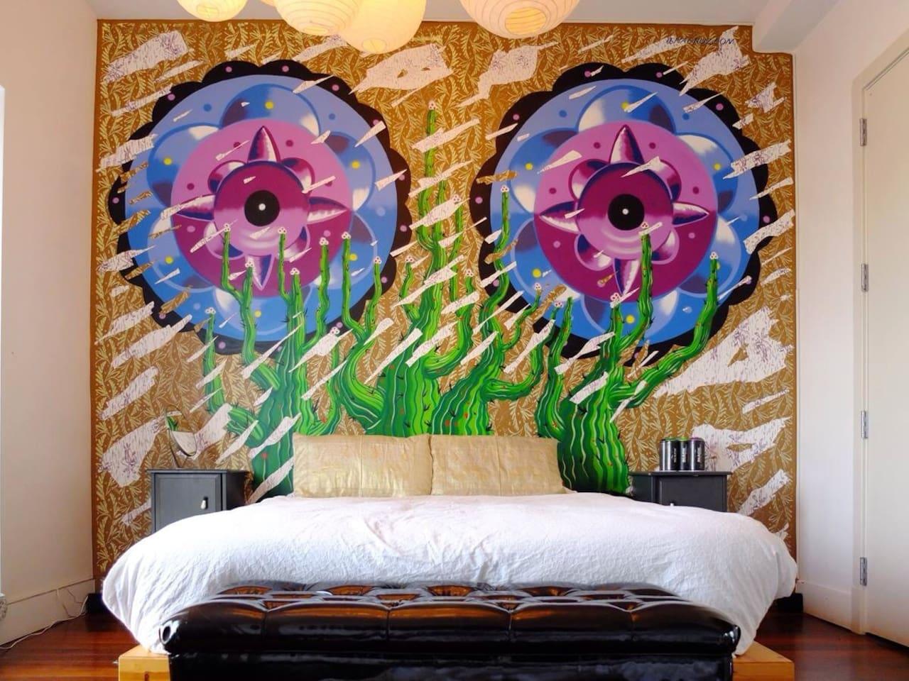 Main bedroom. Artist iena cruz
