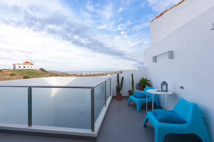 Spectacular Ocean View Apartment In Carrapateira