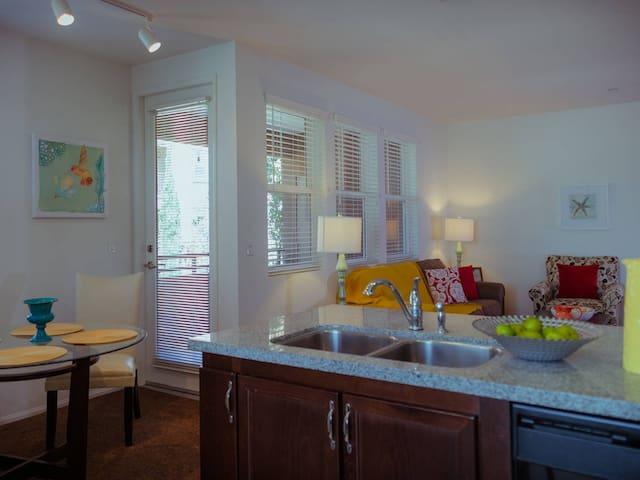 #102 Cozy 2B apartment in Central Irvine - Irvine - Appartement