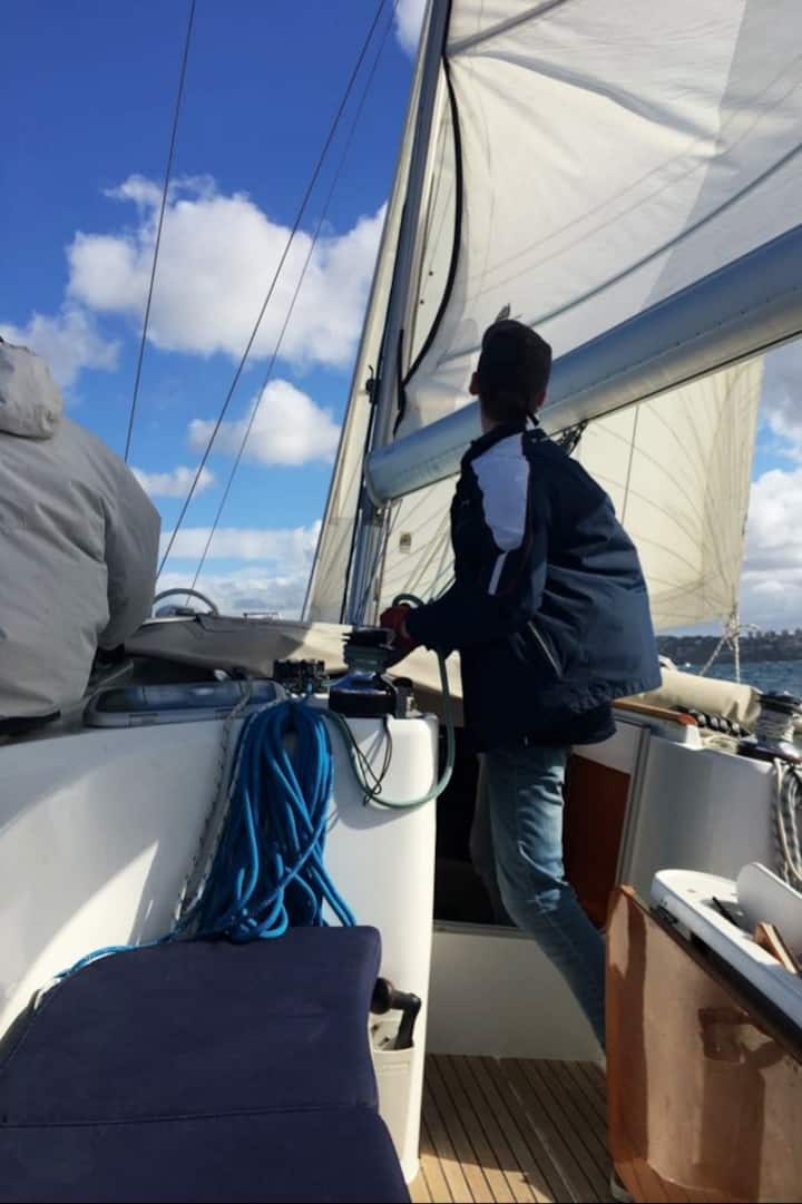 Lend a hand or learn to sail
