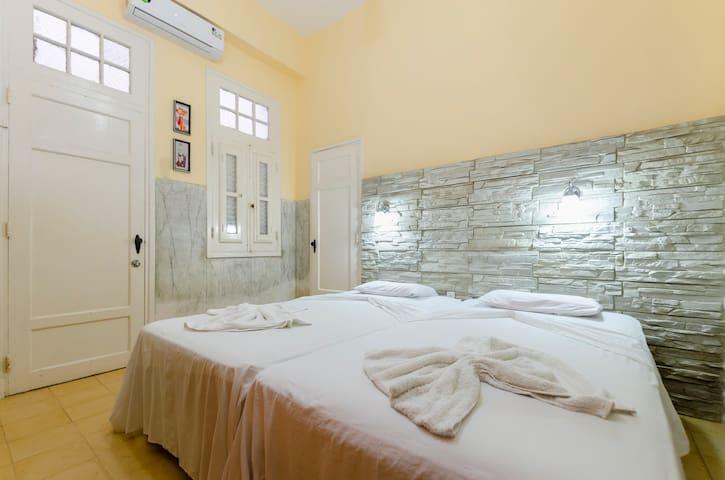 Casa Amada Malecón ,Seaview, Double Bedroom