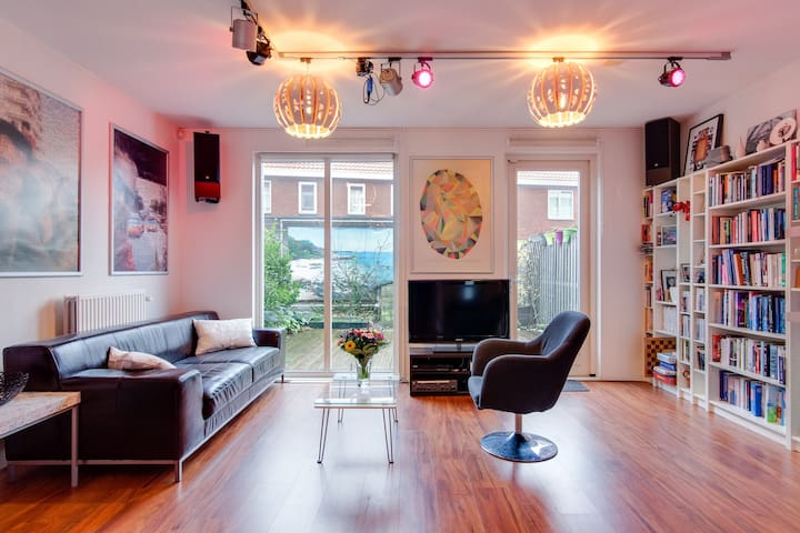 → SPACIOUS HOUSE NEAR CITY CENTER + FREE PARKING  - Utrecht