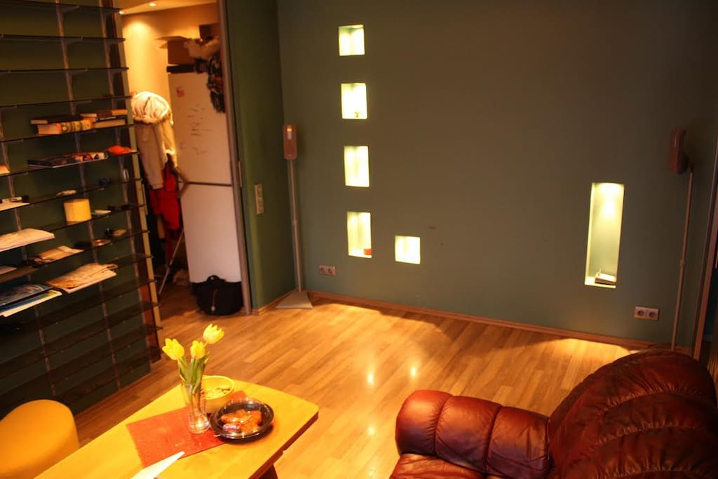 Here you can see the livingroom.