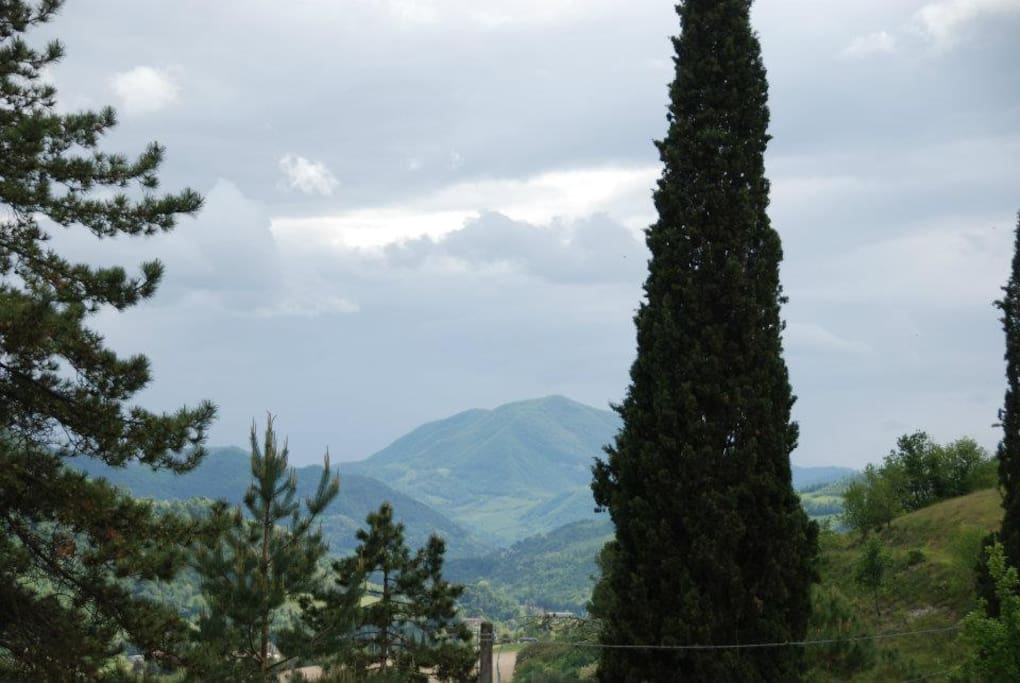 View of the valley/ Vista della valle
