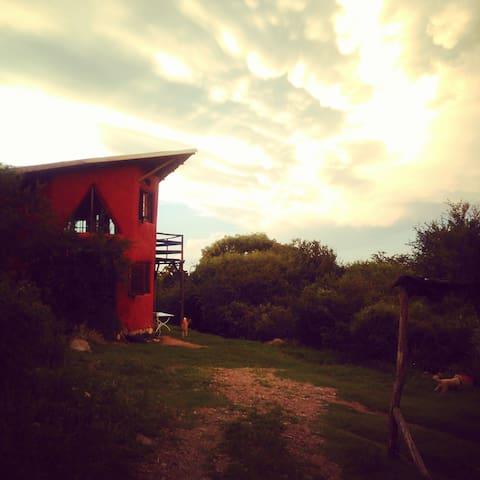 Al pie de Las Gemelas y el Uritorco - Capilla del Monte - Dormitório