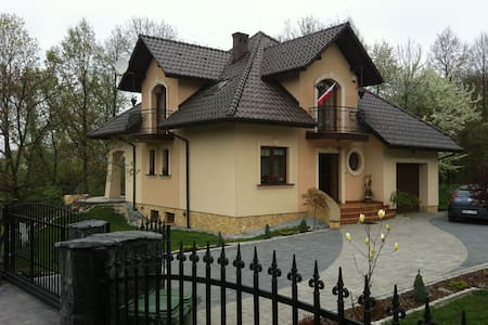 A luxury house with garden instead of a hotel. - Wieprz