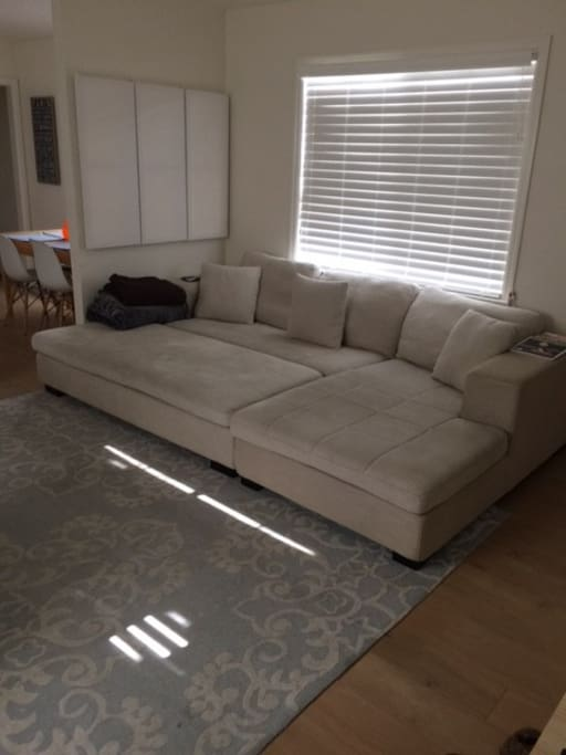 Large lounging couch
