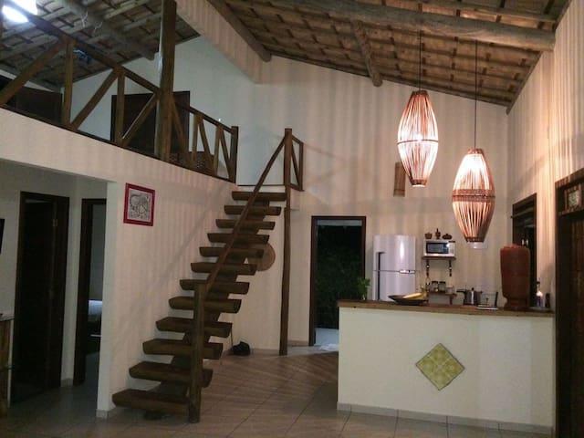 Charme e Conforto Casa em Massarandupió - Entre Rios - House