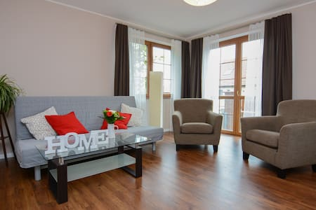 Spacious Modern Flat short commute to town centre - Prague