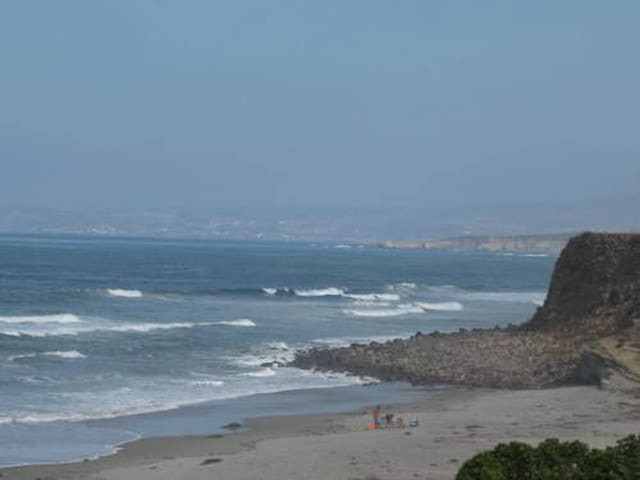 Ocean view and Steeps away from the beach