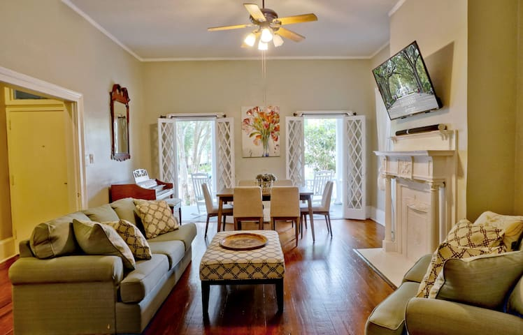 Comfortable Escape in Historic Downtown Savannah