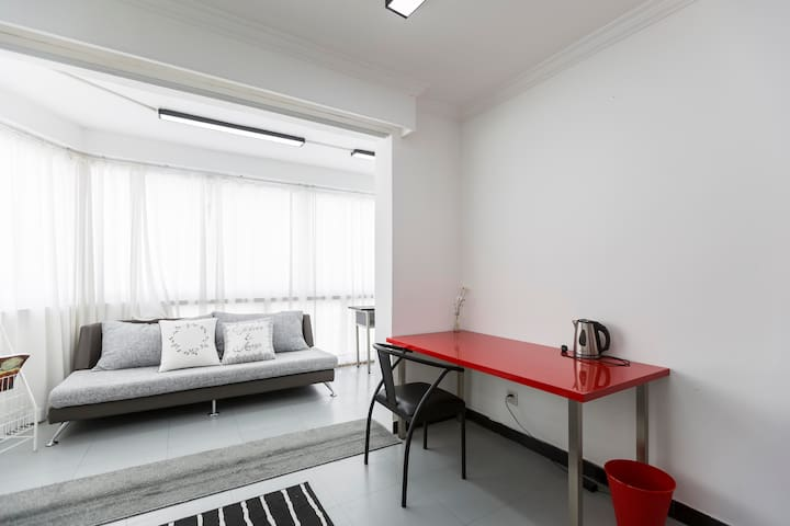 Bright and clean your own space