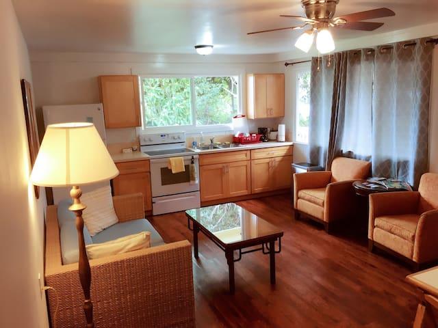 Comfortable room in central Maui - Wailuku - Huis