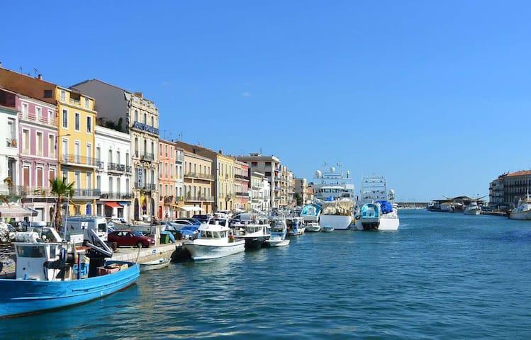 Très bel appartement au coeur de la ville de Sète