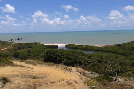 Residencial Granito e Jasmim vista para o mar - Conde - Pis