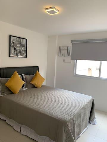 Double bed - ground floor