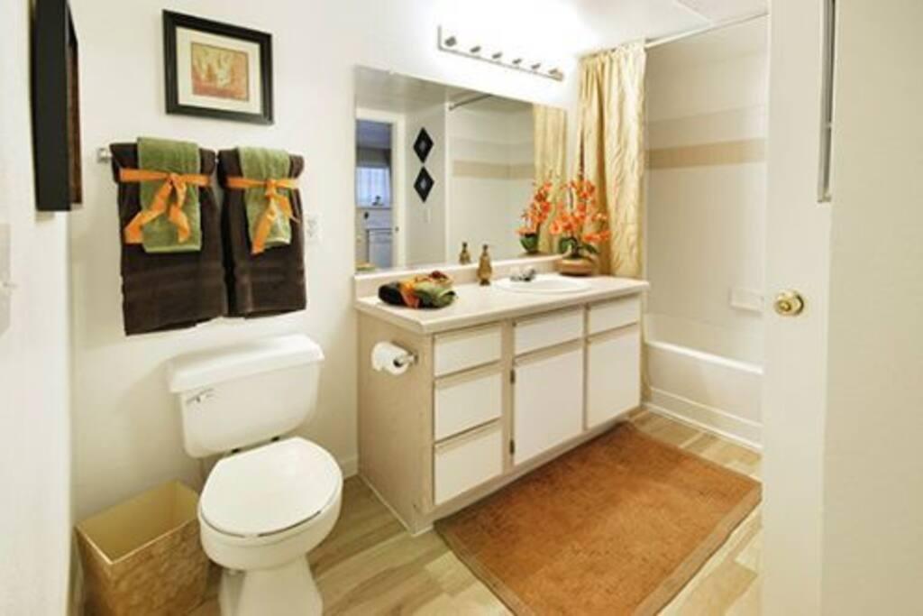 2 full bathrooms!