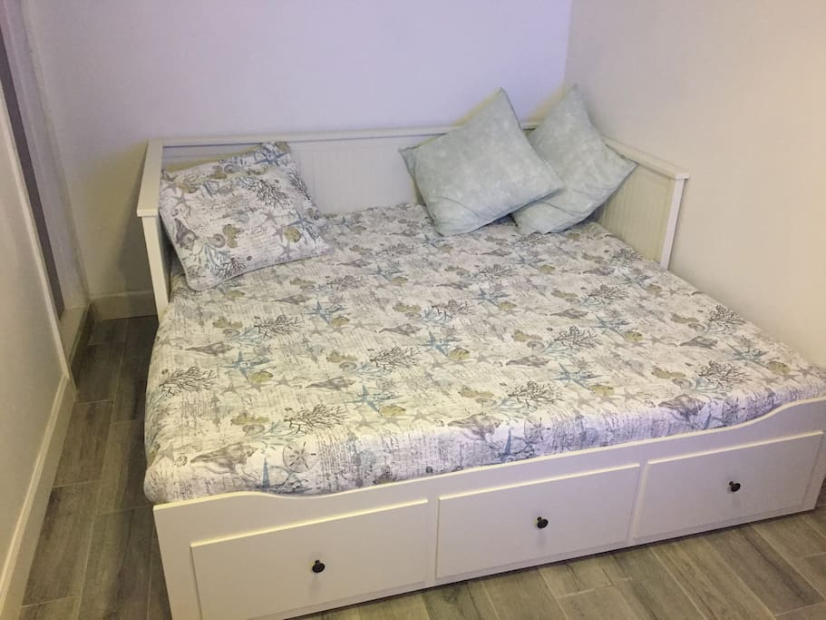 King size memory foam bed!