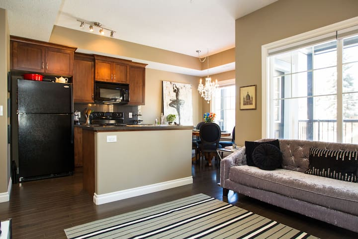 Quiet, central condo near U of A - Edmonton - Daire
