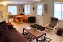 Renovated 2 brm apt at the base of Hunter Mountain