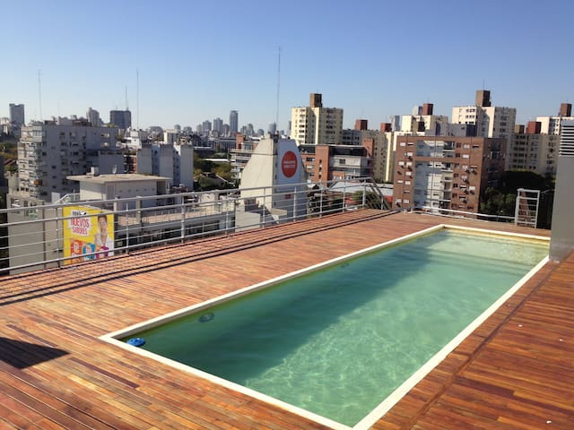 871 ft2 Brande New 2 bed/swimm/barb - Buenos Aires - Apartamento