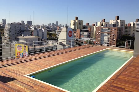 871 ft2 Brande New 2 bed/swimm/barb - Buenos Aires - Byt