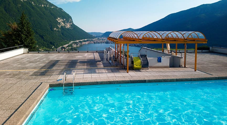 Beautiful apartment overlooking Lake Lugano