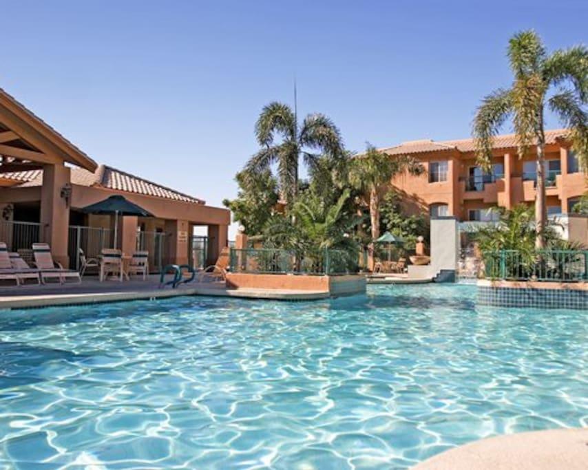 scottsdale villa mirage resort villas for rent in. Black Bedroom Furniture Sets. Home Design Ideas