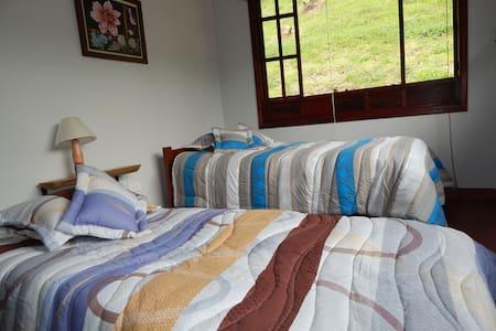 Habitación cerca Bogotá gran vista - La Calera