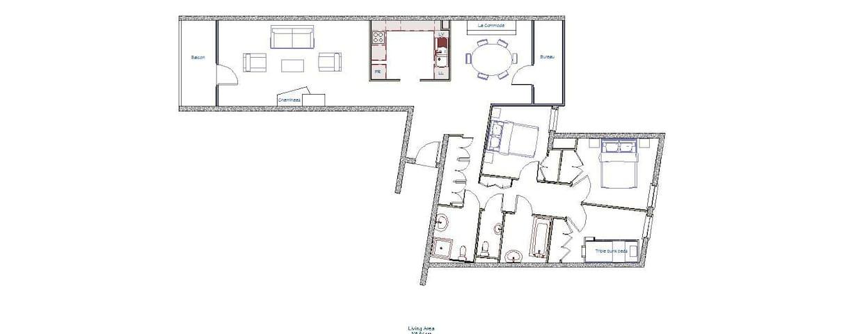 Chalende 30, fantastic family apartment in Morzine