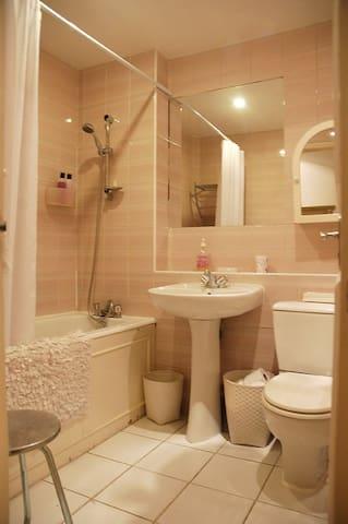 Bathroom/shower.