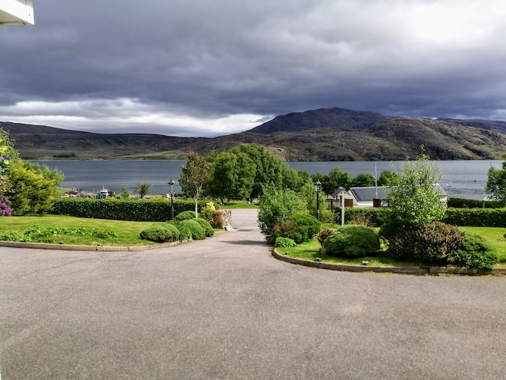 Creag-ard B&B in a stunning location on the NC500
