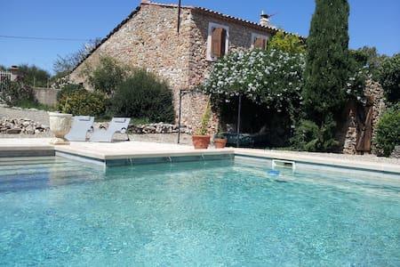 Romantic 'joie de vivre' villa  - Saint Jean De Minervois