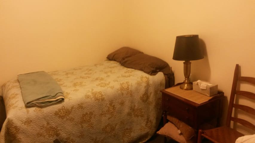 Comfy single bed Alternative Room - Coraopolis - House