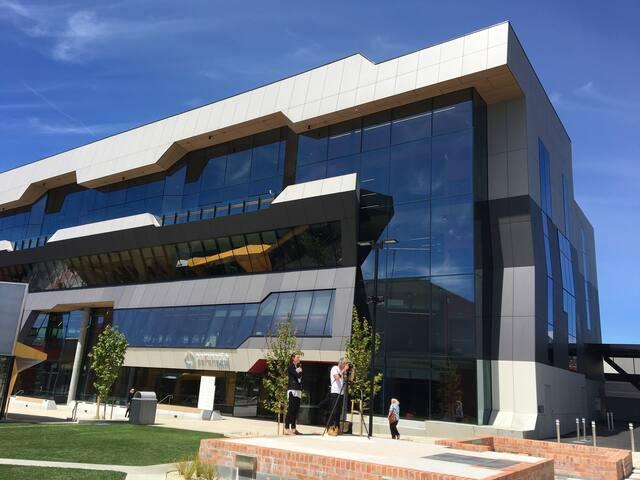Paranaple Centre ( Devonport City Council, library, service Tasmania)