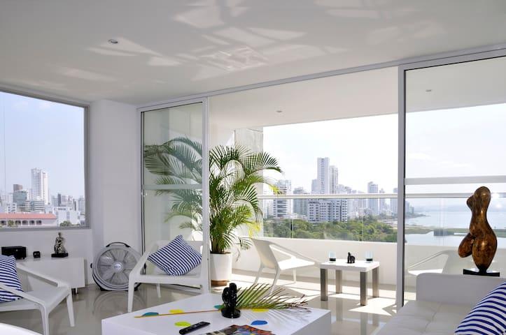 LA MEJOR VISTA DE CARTAGENA - Cartagena - Apartamento