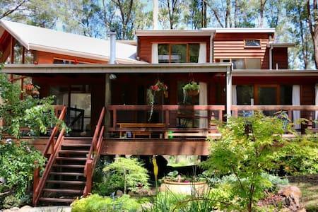 MannaGum Alpine Lodge, house rental - Sawmill Settlement - 独立屋